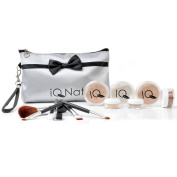 All Natural Makeup Set, 12pc XL Mineral Makeup Kit, (FAIR Shade), by IQ Natural