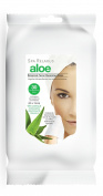 Spa Relaxus Aloe Botanical Facial Cleansing Wipes. 30 Pre-moistened Wipes