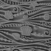 Cool Tools - Flexible Texture Tile - Ocean Motion - 10cm X 5.1cm