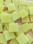 1.3cm Yellow Stained Glass Mosaic Tiles