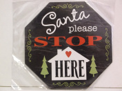 *Santa please STOP HERE* Chipboard Embellishment