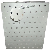 The Gift Wrap Company Silver Classic Dots Large Gift Bag