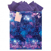 The Gift Wrap Company Galaxy Large Gift Bag