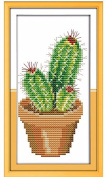 Cross Stitch Kit, DIY Needlework Handmade Embroidery Home Room Decor 11CT Cotton