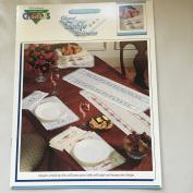 Elegant Table Linens, Vintage 1992 Colour Charts, Volume 20504, Deborah Campbell's, Cross Stitch