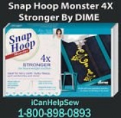 Snap Hoop Monster 4 x 4