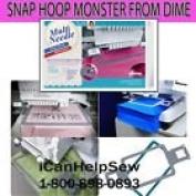 Multi Needle Snap Hoop Monster 4 x 4