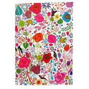 A6 Writing Doodle Book - Flower Art - 48 Pages - 6 X 4 - by Quire
