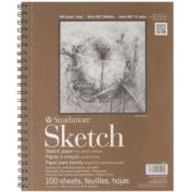 Strathmore Series 400 Sketch Pads 23cm . X 30cm . - Pad Of 100