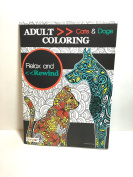 Adult Colouring cat and Dogs ( Relax and rewind ) Book