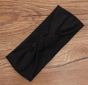 Corcrest(TM)cotton turban headband baby girl headwraps knot headband hair accessories