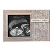Ultrasound Photo Frame- Wooden - Holds 10cm x 10cm Photo