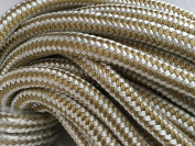 1.9cm Gold Braid Double Braided Nylon Rope, Available in 30m, 46m and 90m