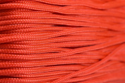 95 Cord - Orange - Type 1 Cord - 30m on Plastic Winder - Bored Paracord Brand