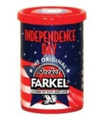Farkel Game Patriotic Independence Can