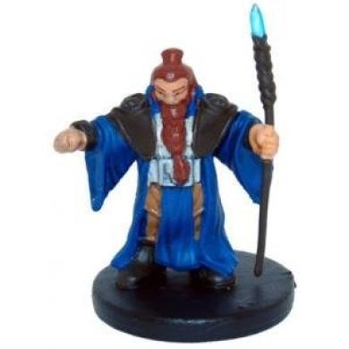 D & D Minis: Shield Dwarf Wizard 8 - Rage of Demons