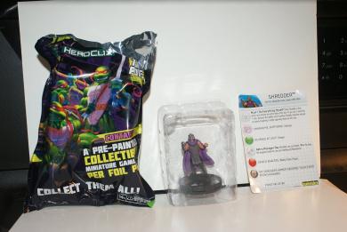 HEROCLIX TMNT 021 SHREDDER Rare Teenage Mutant Ninja Turtles