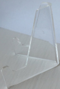 Set of 10 Clear Plastic Coin Holder Display Stands Acrylic 33mm Medallion Chip Easel