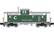 N Cupola Caboose, Chessie/Safety 6 #903285