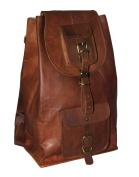 gbag(T) Leather Laptop Backpack School rucksack daypack leather Bag