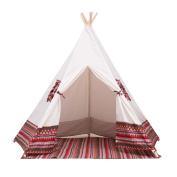 Free Love @red colour kids play tent indian teepee children playhouse children play room teepee