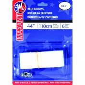 Maxant Button BB-100 Belting Kit, 2.5cm x 110cm , White