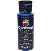 Plaid:Delta 04026 Ceramcoat Select Multi-Surface Paint, 60ml, Navy Blue