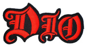 DIO Heavy Metal Band t Shirts Logo MD10 Applique iron on Patches