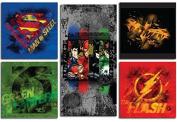Modern Littles Justice League 5 Piece Wall Art Set, Multicoloured