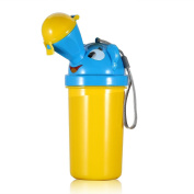 OneCreation Portable Cute Baby Child Potty Training Urinal for Travelling, Camping, Car Outside Toilet - Yellow for Boys