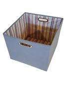 Heather Grey Alexi Ricci 13x13x13 Folding Storage Bin