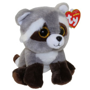"""New Ty Beanie TY Beanie Baby - BANDIT the Raccoon (6 inch) Boos Cute Ty Beanie Baby - Plush Toys 6"""" 15cm Ty Plush Animals Big Eyes Eyed Stuffed Animal Soft Toys for Kids Gifts ..."""