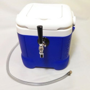 Mini Jockey Box - Portable Single Faucet Cooler- 15m Stainless Steel Coil