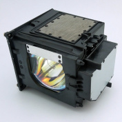 DLP TV Lamp with Housing 915P049010 for Mitsubishi WD-52631 / WD-57731 / WD-57732 / WD-65731 / WD-65732 / WD-Y57 / WD-Y65