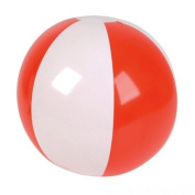 41cm Red & White Patriotic Beach Ball Inflate