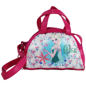 Disney Frozen Elsa Bag Handbag Kid Mini Bowling Bag Pink