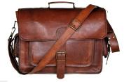 Krish Vintage Leather Laptop Bag Messenger Handmade Briefcase Crossbody Shoulder Bag
