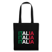 Italia Italy Typography Tote Bag by Spreadshirt