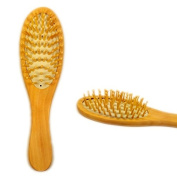 Hrph Wooden Bamboo Hair Vent Brush Brushes Hair Care and Beauty SPA Massager Massage Comb