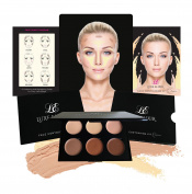 Cream Contour Kit - Smooth, Pigmented Cream Best for Contouring and Highlighting - Step-by-Step Contouring Guide Included