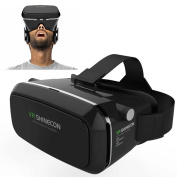 Gearmax® 3D VR Virtual Reality Glasses Headset with Head-mounted Headband and NFC Tag for 3.5-15cm Google, iPhone, for for for for for for for for for for Samsung Note, LG Nexus, HTC, Moto Smartphones