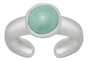 AG2AU Sterling Silver Toe Ring - Turquoise