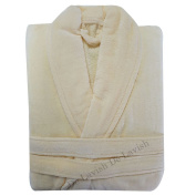 Ladies Bathrobe Long Womens Mens Bath Robe Soft 100% Egyptian Cotton Dressing Gown Towelling Free Size Unisex