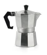 Galileo Casa 2175870 Coffee Maker, 3 Cups, Aluminium, Grey