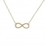 Women's Necklace Infinity - Yellow Gold