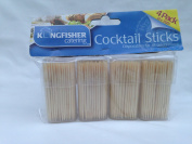 800 x wooden cocktails sticks 80mm