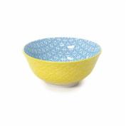 Art Deco Home - Bowl, Big, Blue Ceramics, 16 cm