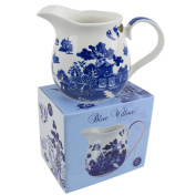 Classic Large Jug by Leonardo Blue Willow Collection Kitchen GIFT Boxed