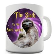 Twisted Envy Sloth Is My Spirit Animal Ceramic Coffee Mug