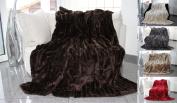 Blanket Cuddly High-Quality 200x150 cm brown